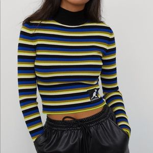 Kangol x H&M Striped Turtleneck Sweater